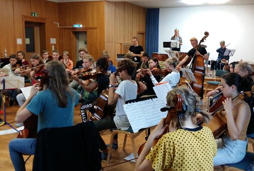 Rückschau: Orchesterfahrt
